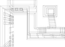 Priorità bassa 2 della costruzione Fotografie Stock
