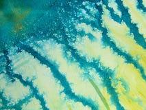 Priorità bassa 3 dell'acquerello del Aqua fotografie stock libere da diritti