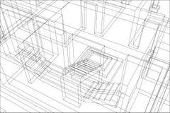 Priorità bassa 4 della costruzione Fotografie Stock