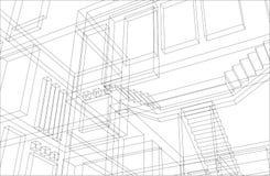 Priorità bassa 5 della costruzione Immagini Stock