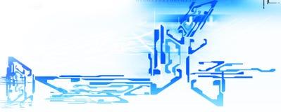 Priorità bassa alta tecnologia Immagine Stock Libera da Diritti
