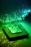 Priorità bassa alta tecnologia di tecnologia Fotografie Stock Libere da Diritti