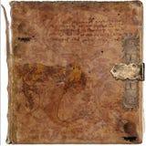 Priorità bassa antica del grunge del libro dell'annata di saggezza Fotografie Stock
