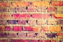 Priorità bassa antica del muro di mattoni Immagini Stock Libere da Diritti