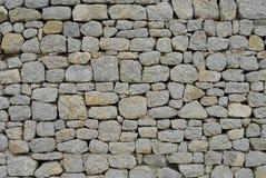 priorità bassa antica della parete di pietra Fotografia Stock Libera da Diritti