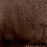 Priorità bassa antica di alfabeto Fotografie Stock Libere da Diritti