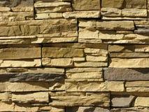 Priorità bassa approssimativa della parete di pietra Fotografia Stock Libera da Diritti