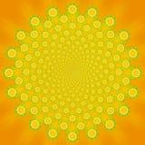 Priorità bassa arancione Fotografia Stock Libera da Diritti