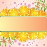 Priorità bassa arancione Immagini Stock