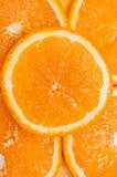 Priorità bassa arancione Fotografia Stock