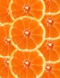 Priorità bassa arancione affettata Immagini Stock