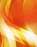 Priorità bassa arancione astratta 4 Immagini Stock