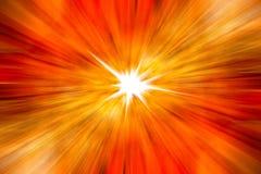 Priorità bassa arancione astratta Immagine Stock