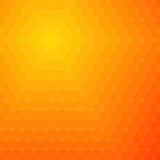 Priorità bassa arancione astratta Fotografie Stock