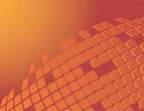 Priorità bassa arancione astratta Immagini Stock Libere da Diritti