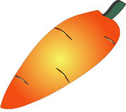 Priorità bassa arancione dei prodotti carrots Fotografie Stock