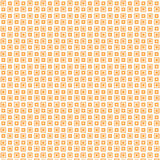 Priorità bassa arancione del MOD illustrazione di stock