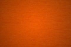 Priorità bassa arancione del tessuto Fotografia Stock Libera da Diritti