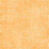 Priorità bassa arancione dell'album della pesca molle Fotografia Stock