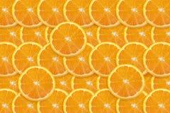 Priorità bassa arancione della fetta Immagini Stock