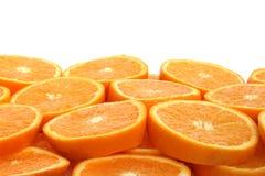 Priorità bassa arancione della fetta Immagine Stock Libera da Diritti