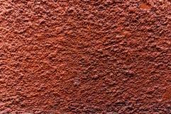 Priorità bassa arancione della parete Fotografia Stock