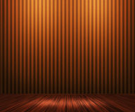 Priorità bassa arancione della stanza dell'annata illustrazione di stock