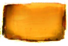 Priorità bassa arancione di Grunge Fotografia Stock Libera da Diritti