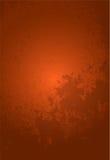Priorità bassa arancione di Grunge Immagini Stock Libere da Diritti