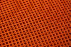 Priorità bassa arancione di struttura Fotografie Stock