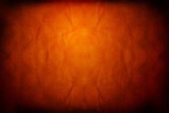 Priorità bassa arancione Grungy Fotografie Stock