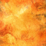 Priorità bassa arancione Grungy Immagini Stock Libere da Diritti