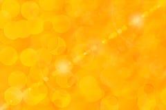Priorità bassa arancione lucida Fotografie Stock Libere da Diritti