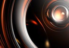 Priorità bassa arancione scuro 03 Immagini Stock