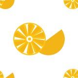 Priorità bassa arancione senza giunte Immagine Stock