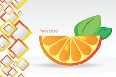 Priorità bassa arancione sugosa Fotografia Stock