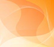 Priorità bassa arancione Web/dell'estratto Immagini Stock
