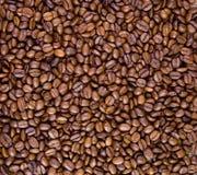 Priorità bassa arrostita dei chicchi di caffè Fotografia Stock Libera da Diritti