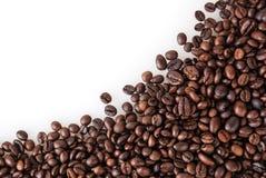 Priorità bassa arrostita dei chicchi di caffè Fotografie Stock Libere da Diritti