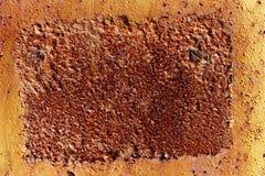 Priorità bassa arrugginita del metallo Fotografie Stock Libere da Diritti