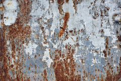 Priorità bassa arrugginita del metallo Fotografia Stock Libera da Diritti