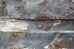 Priorità bassa arrugginita del metallo Immagini Stock