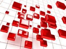 Priorità bassa astratta 3D illustrazione vettoriale