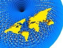 Priorità bassa astratta 3D Immagini Stock Libere da Diritti