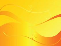 Priorità bassa astratta in arancio Fotografia Stock
