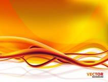 Priorità bassa astratta arancione Fotografia Stock