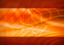 Priorità bassa astratta arancione Immagine Stock Libera da Diritti