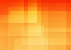 Priorità bassa astratta arancione illustrazione vettoriale