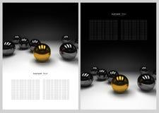 Priorità bassa astratta in bianco e nero Fotografia Stock