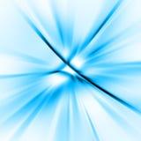 Priorità bassa astratta blu Fotografia Stock